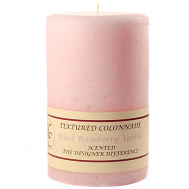 Textured Black Raspberry Vanilla 4 x 6 Pillar Candles