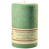Textured Honeydew Melon 4 x 6 Pillar Candles