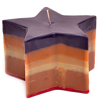 Layered Star Candles