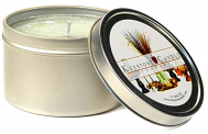 8 oz French Vanilla Candle Tins