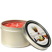 8 oz Macintosh Apple Candle Tins