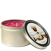 8 oz Raspberry Cream Candle Tins