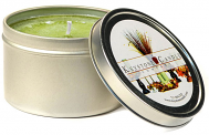8 oz Sage and Citrus Candle Tins