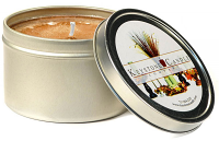 4 oz Baked Apple Crisp Candle Tins