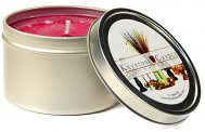 4 oz Raspberry Cream Candle Tins