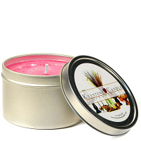 4 oz Sweetheart Rose Candle Tins
