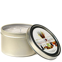 4 oz Wedding Cake Candle Tins