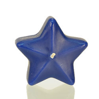 Small Blue Star Floating Candles