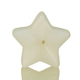 Small White Star Floating Candles
