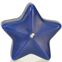 Medium Blue Star Floating Candles