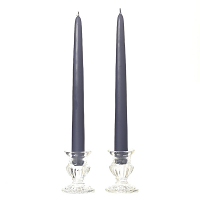 8 Inch Wedgwood Taper Candles Pair