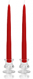 10 Inch Red Taper Candles