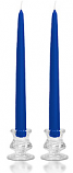 10 Inch Royal Blue Taper Candles