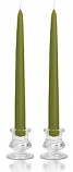 10 Inch Sage Taper Candles
