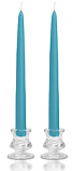 12 Inch Colonial Blue Taper Candles