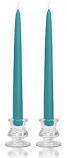 12 Inch Mediterranean Blue Taper Candles