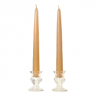 12 Inch Parchment Taper Candles