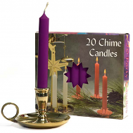 Plum Chime Candles