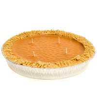 9 inch Pumpkin Pie Candles