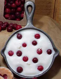 Cranberry Scented Pan Candles
