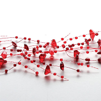 Red Beaded Garland
