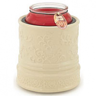 Crock Jar Warmers Cream