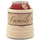 Crock Jar Warmers Faith Family Friends