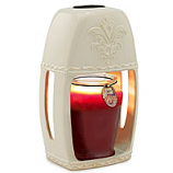 Ceramic Candle Warmer Lantern Sand Stone