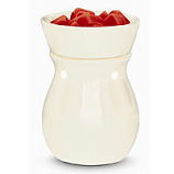 Round Electric Tart Warmers White