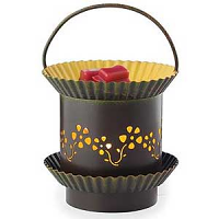 Punched Tin Tart Warmers Sun Blossom