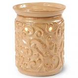 Rococo Ceramic Tart Warmer Tan