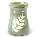 Tranquility Ceramic Candle Warmer Green