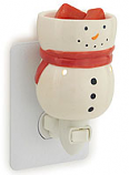Full Body Snowman Mini Tart Warmer