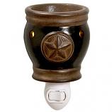 Texas Star Mini Tart Warmers Black