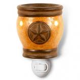 Texas Star Mini Tart Warmers Gold