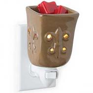 Toffee Fleur De Lis Mini Warmer