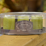 Mini Scented Battery Operated Pillars Citrus Sage