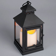 Mini Square Lantern and LED Pillar