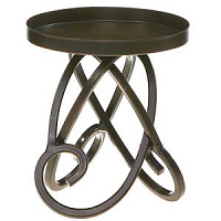 Looped Metal Candle Holders 4.75 Inch