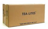 500 White Bulk Tea Lights 125 Pack