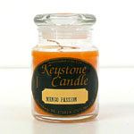 Candy Corn Jar Candles 5 oz