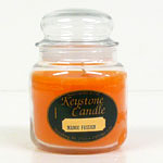 Candy Corn Jar Candles 16 oz