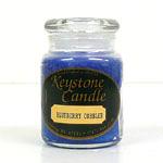 Blue Christmas Jar Candles 5 oz
