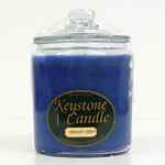 Blue Christmas Jar Candles 64 oz