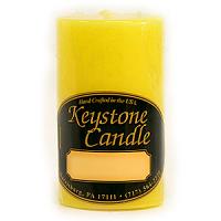 2 x 3 Tropical Pineapple Pillar Candles