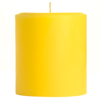 3 x 3 Tropical Pineapple Pillar Candles
