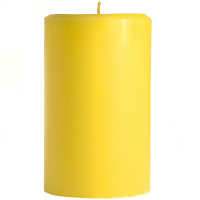 4 x 6 Tropical Pineapple Pillar Candles