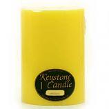 6 x 9 Tropical Pineapple Pillar Candles