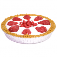 9 inch Strawberry Pie Candles