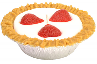 5 inch Strawberry Pie Candles